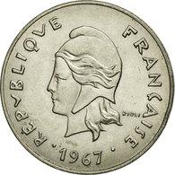 Monnaie, Nouvelle-Calédonie, 50 Francs, 1967, Paris, TTB, Nickel, KM:7 - Nouvelle-Calédonie