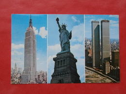Cpsm NEW YORK CITY  The Mighty Symbols - Multi-vues, Vues Panoramiques
