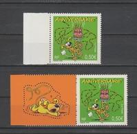 FRANCE / 2003 / Y&T N° 3569 ** (de Feuille Et Du Bloc) : Marsupilami - Gomme D'origine Intacte - Unused Stamps