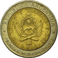 Monnaie, Argentine, Peso, 1995, TTB, Bi-Metallic, KM:112.1 - Argentine