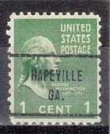 USA Precancel Vorausentwertung Preo, Locals Georgia, Hapeville 713 - Vereinigte Staaten