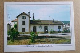 BELLEVILLE - La Gare ( 54 Meurthe Et Moselle ) - France