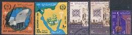 Egipto 1966  -  Yvert 667 + 677 + 680 + 681  ( Usados ) - Egipto