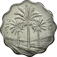 Monnaie, Iraq, 10 Fils, 1975, TTB, Stainless Steel, KM:126a - Iraq
