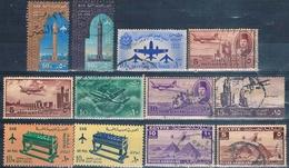 Egipto 1933 / 65  -  Varios  ( Usados ) - Aéreo
