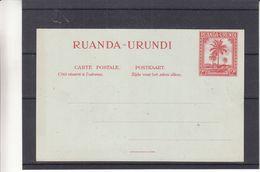 Ruanda Urundi - Carte Postale Neuve - Palmiers - Ruanda-Urundi