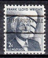 USA Precancel Vorausentwertung Preo, Locals Georgia, Jeffersonville 846 - Vereinigte Staaten