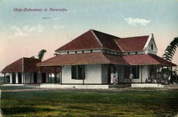 Indonesia, JAVA PAREREDJO, Hospital (1928) Mission Postcard - Indonesia