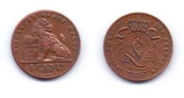 Belgium 1 Centime 1902 (legend In Dutch) - 1865-1909: Leopold II