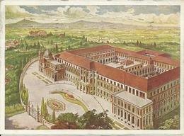 """Rivoli (Torino) Nuovo Seminario Arcivescovile, Thematic Stamp """"Bimillenario Augusteo 30 Cent. 1937"""" - Rivoli"""