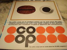 ANCIENNE PUBLICITE ACHETEZ LE BON GRAIN ET COOP 1968 - Afiches