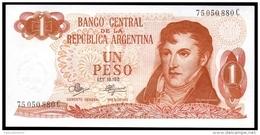 Argentina 1 PESO Letter C ND 1970-73 P 287 UNC   ( Argentijnse Argentine ) - Argentine