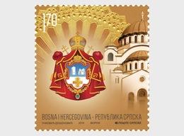 Bosnië / Bosnia - Postfris / MNH - 800 Jaar Servisch Orthodoxe Kerk 2019 - Bosnië En Herzegovina