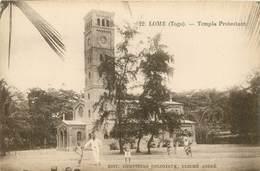 "CPA TOGO ""Lomé, Temple Protestant"" - Togo"