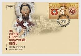 Bosnië / Bosnia - Postfris / MNH - FDC 800 Jaar Servisch Orthodoxe Kerk 2019 - Bosnië En Herzegovina
