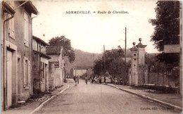 52 - SOMMEVILLE --  Route De Chevillon - France