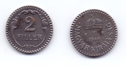 Hungary 2 Filler 1940 WWII Issue - Hongrie