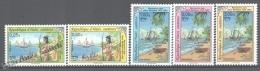 Haiti 1992 Yvert 853-54 + A662-64, América UPAEP, Discovery Of America - MNH - Haïti