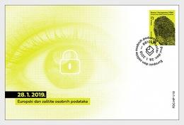Bosnië / Bosnia - Postfris / MNH - FDC Europese Data Bescherming 2019 - Bosnië En Herzegovina