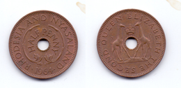 Rhodesia & Nyasaland 1/2 Penny 1964 - Rhodésie
