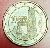 AUSTRIA - 2006 - Moneta - Cattedrale Di Santo Stefano - Euro - 0.10 - Austria