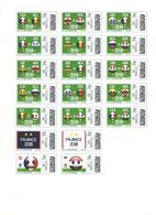 FRANCE 2018 Football MNH - Fußball-Weltmeisterschaft