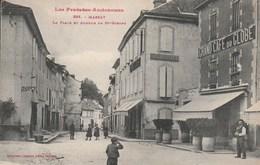 Massat La Place Et Avenue De Saint Girons - Autres Communes