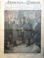 La Domenica Del Corriere 14 Gennaio 1917 WW1 Convegno Di Roma Rasputin Reichstag - Guerre 1914-18