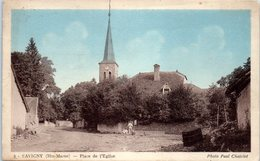 52 - SAVIGNY -- Place De L'Eglise - France