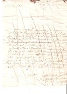 Précurseur De 1688 ?adressé Au Baron De St.POIS (voir Annexe) - ....-1700: Precursors