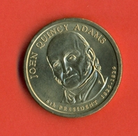 USA 2008P. John Quincy Adams - 6th President Of USA. UNC. - Émissions Fédérales