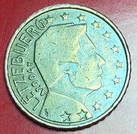 LUSSEMBRUGO - 2004 - Moneta - Ritratto Di Sua Altezza Reale Il Granduca Henri - Euro - 0.50 - Lussemburgo