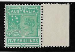 Western Australia N°78 - Neuf * Avec Charnière - TB - 1854-1912 Western Australia