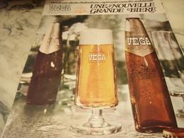 ANCIENNE PUBLICITE BIERE VEGA 2000  1968 - Publicités