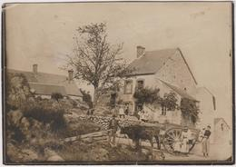 23  Saint Pierre De Fursac La Maison De Crechat En 1910 Carte Photo  Ou Saint Pierre De Furzac - France