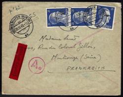 LETTRE EN PROVENANCE DE LUDWIGSHAFEN - 1943 - PAR EXPRÈS - - Allemagne