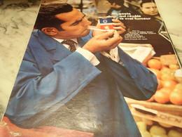 ANCIENNE PUBLICITE CIGARETTE FRANCAISE 1968 - Tabac (objets Liés)