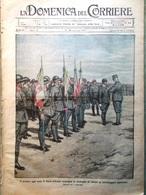 La Domenica Del Corriere 21 Gennaio 1917 WW1 Morte Buffalo Bill Fokker Medaglie - Guerra 1914-18