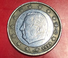 BELGIO - 1999 - Moneta - Effige Di  Re Alberto II - Euro - 1.00 - Belgio