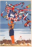 Scoutisme - Jamboree 1947 - Magnifique Dessin De Pierre Joubert - Editions P.P. Ozanne - Scoutisme