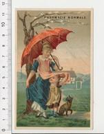 Chromo Produits Hygiéniques De Toilette Pharmacie Normale Parapluie Pluie BIM 69/5-B - Vieux Papiers
