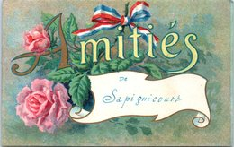 52 - SAPIGNICOURT --  Amitiés - France