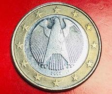 GERMANIA - 2007 - Moneta - Aquila, Da Sempre Emblema Della Sovranità Tedesca - Euro - 1.00 - Germania