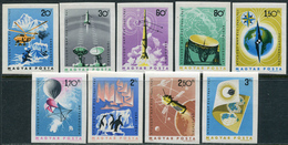 Hungary 1965. Michel #2101/09-B MNH/Luxe. International Years Of The Calm Sun (IQSY) (B28) - Protection De L'environnement & Climat
