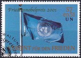 UNO WIEN 2001 Mi-Nr. 350 O Used - Aus Abo - Wien - Internationales Zentrum