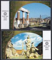 UNO WIEN 2002 Mi-Nr. 371/72 O Used - Aus Abo - Wien - Internationales Zentrum