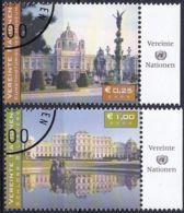 UNO WIEN 2003 Mi-Nr. 387/88 O Used - Aus Abo - Wien - Internationales Zentrum