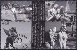 UNO WIEN 2008 Mi-Nr. 522/25 O Used - Aus Abo - Wien - Internationales Zentrum
