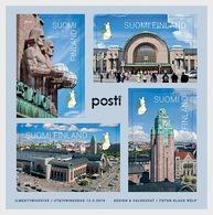 Finland - Postfris / MNH - Sheet Centraal Station Helsinki 2019 - Finland