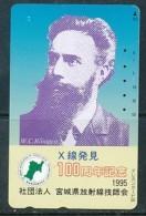 JAPAN Telefonkarte - Germany  - W.C. Röntgen - Personen